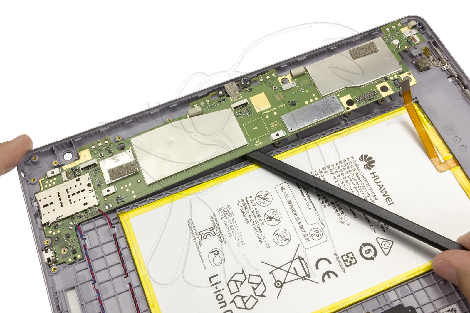 Manuales / Huawei MediaPad T3 10 / Motherboard   Nadie Me Llama Gallina