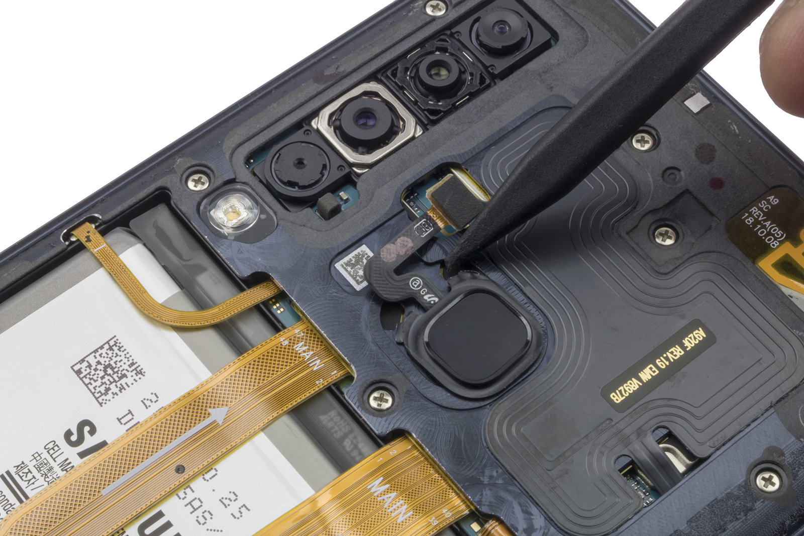 Manuales / Samsung Galaxy A9 / Rear cameras | Nadie Me Llama Gallina
